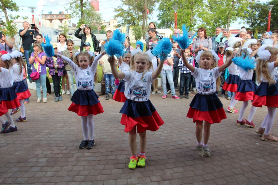 Праздник в День защиты детей