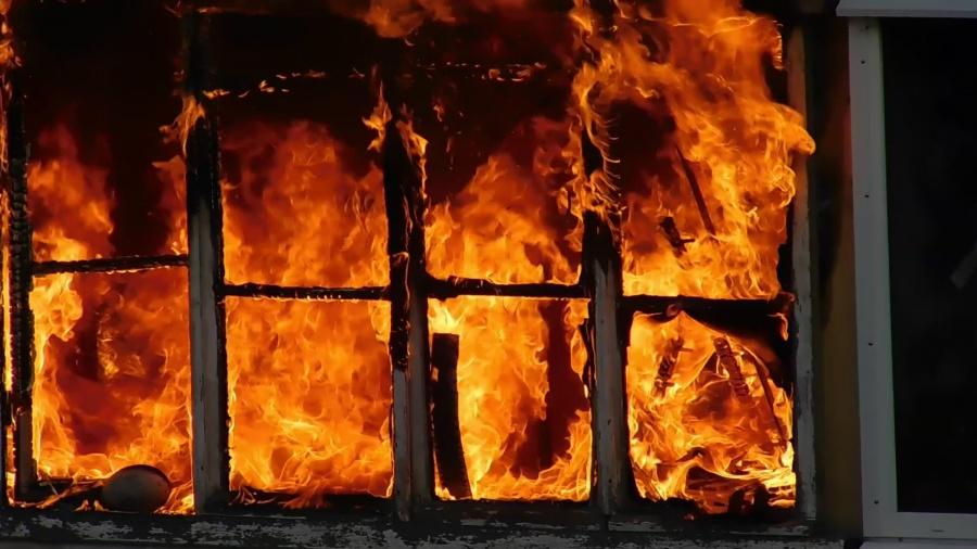 В Пупышево сгорел ребёнок