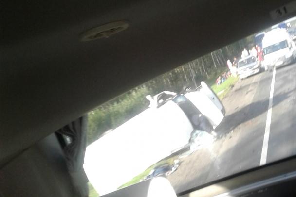 """В ДТП на """"Коле"""" пострадали шесть человек, включая двоих детей"""