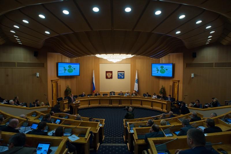 Заседание Правительства Ленинградской области от 25.10.2018 года.