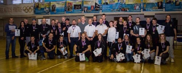 Волховчане победили в Турнире по Спортивному ножевому бою