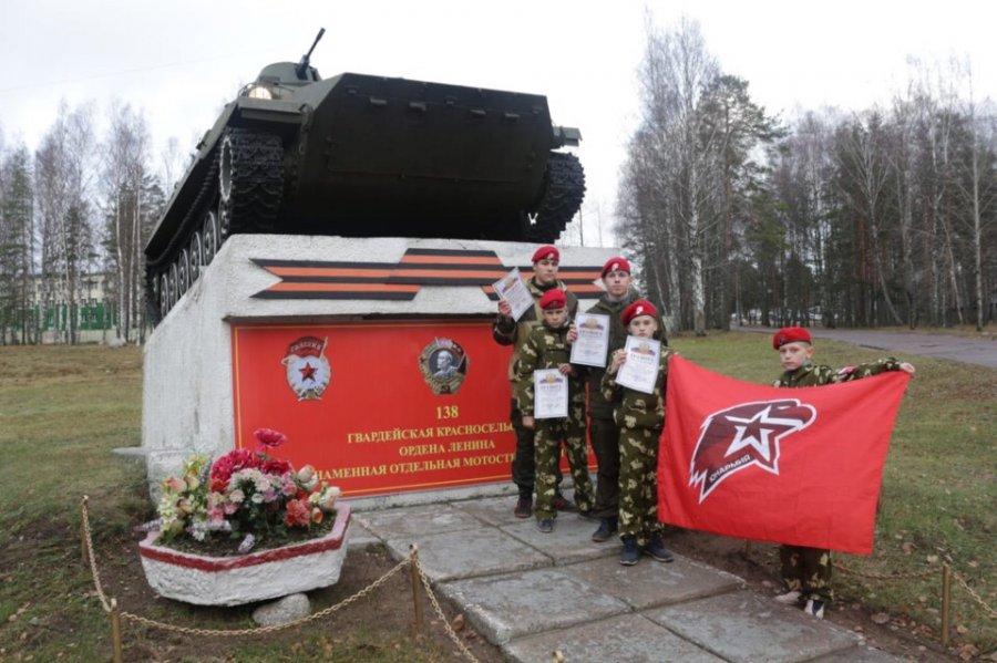 Юнармейцы Волховского района побывал на областных сборах