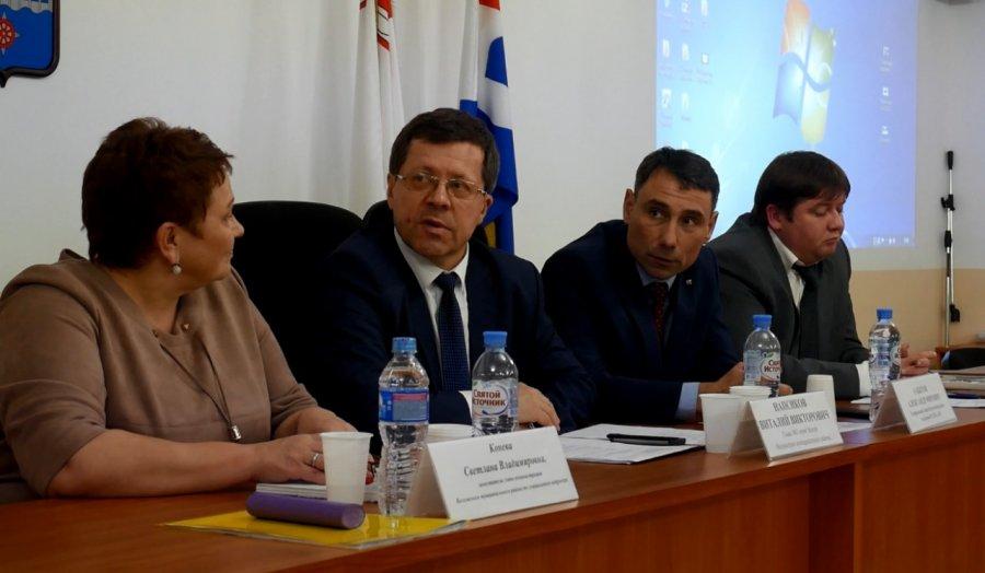 Заседание Волховского Союза промышленников и предпринимателей
