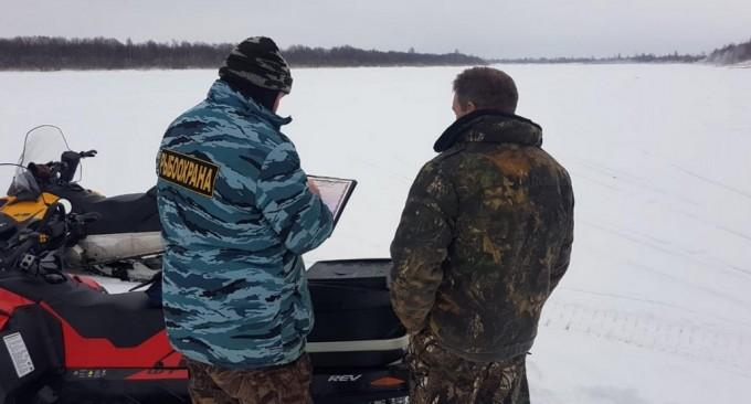 260 кг рыбы изъяли инспекторы Рыбоохраны у браконьеров
