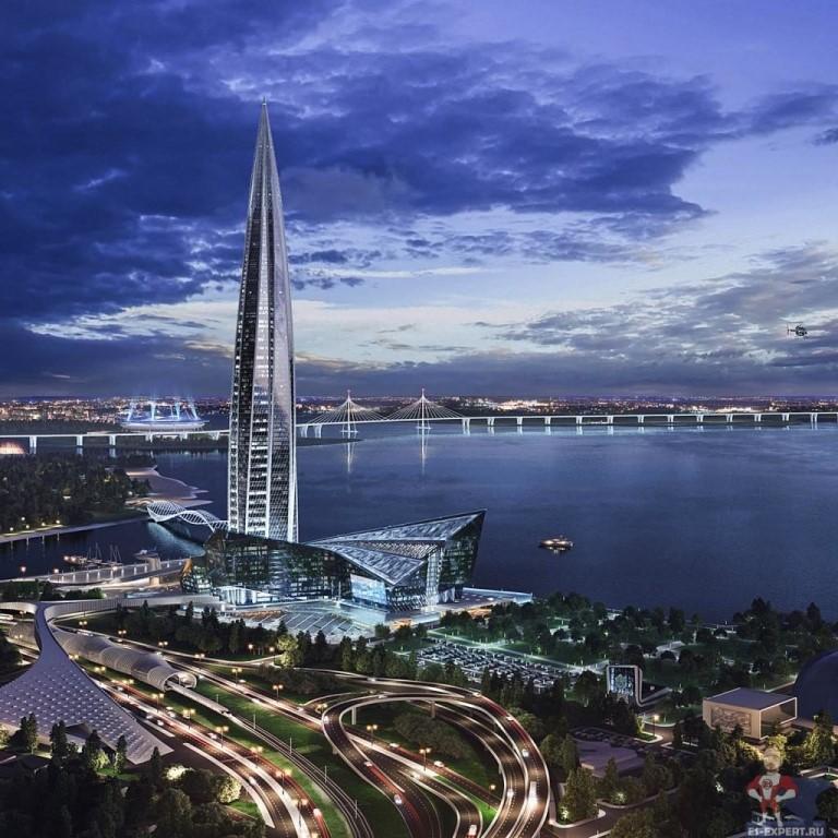 Братья Березуцкие создадут в «Лахта Центре» ресторан в 315 метрах над землёй