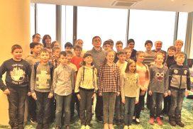 Мастер-класс для шахматистов из Ленинградской области