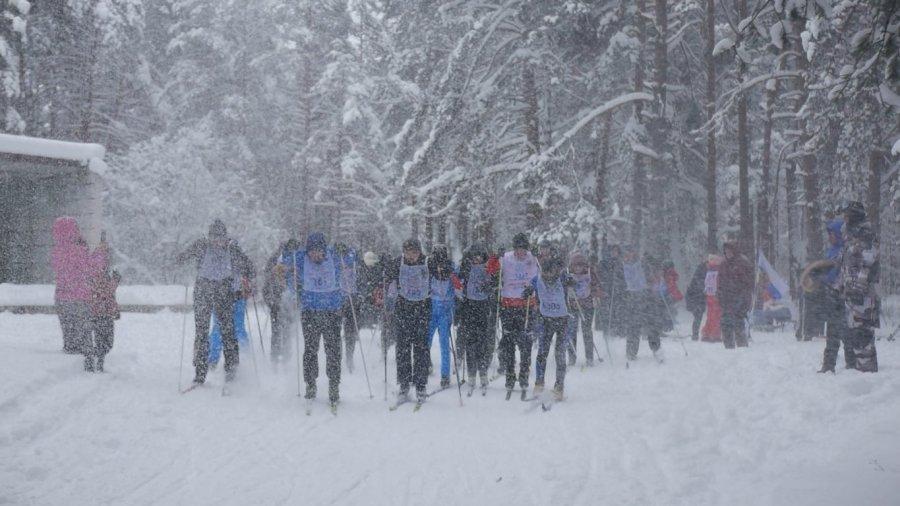 Лыжная гонка в Новой Ладоге