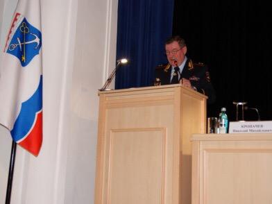 Сергей Бебенин принял участие в заседании Коллегии ГУ МВД России по Санкт-Петербургу и Ленинградской области