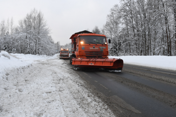 Возвращение зимы не принесло сюрпризов дорогам
