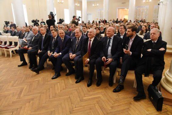 Сергей Бебенин поздравил Санкт-Петербургский государственный университет с 295-летием