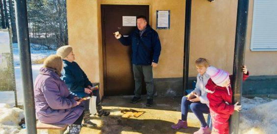 Инструктажи «О первичных мерах пожарной безопасности» и «Безопасности в период проведения весеннего половодья 2019 года» в Паше