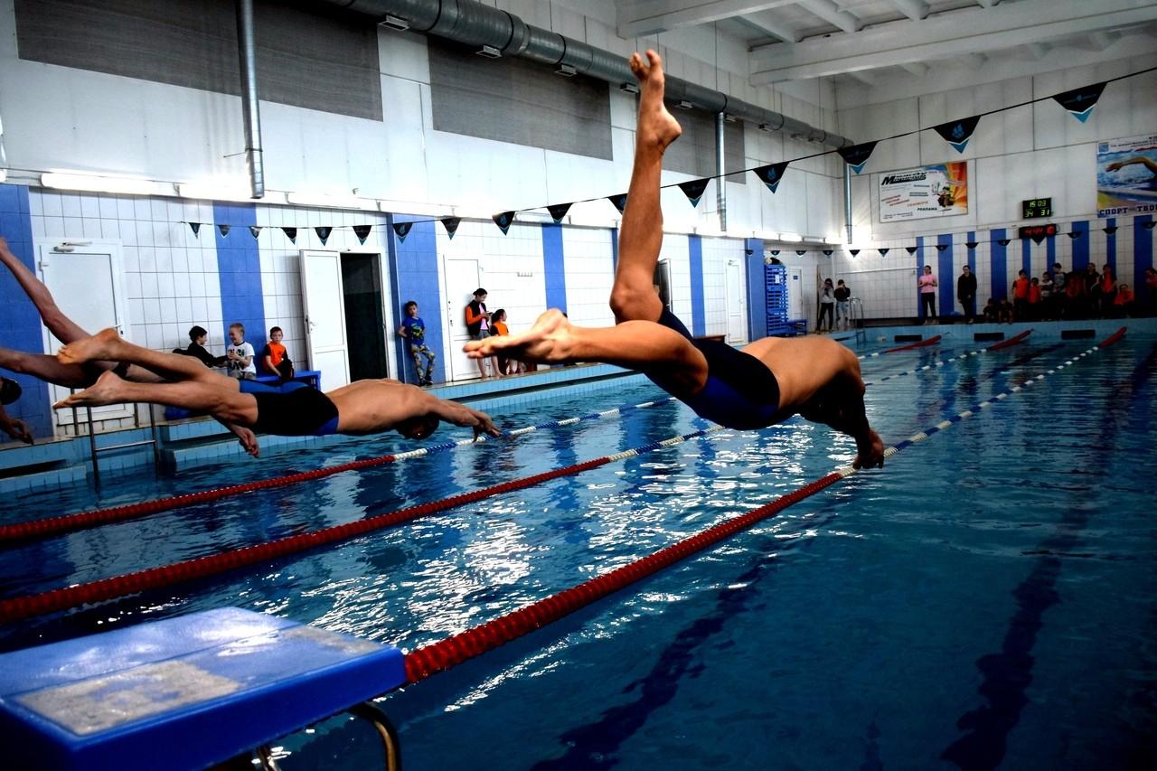 Открытое первенство Волхова по плаванию, посвященное Дню химика