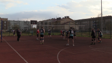 Открытие спортивного сезона в Бережках