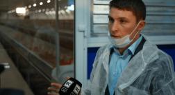 Открытие кролиководческой фермы в Усадище Видеосюжет