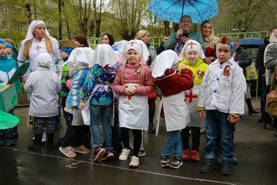 День Победы в детском саду №22