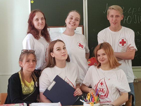 Волонтёры провели игровую программу «Внимание!!!Пешеход»