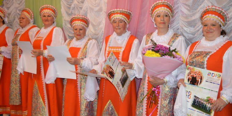 """Очередной концерт """"Калинушки"""" с успехом состоялся в Новой Ладоге"""