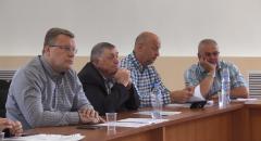 На внеочередном заседании районного Совета