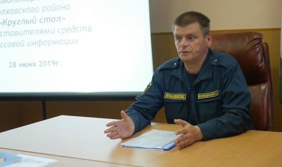Пожарная служба и СМИ Волховского района готовы к сотрудничеству
