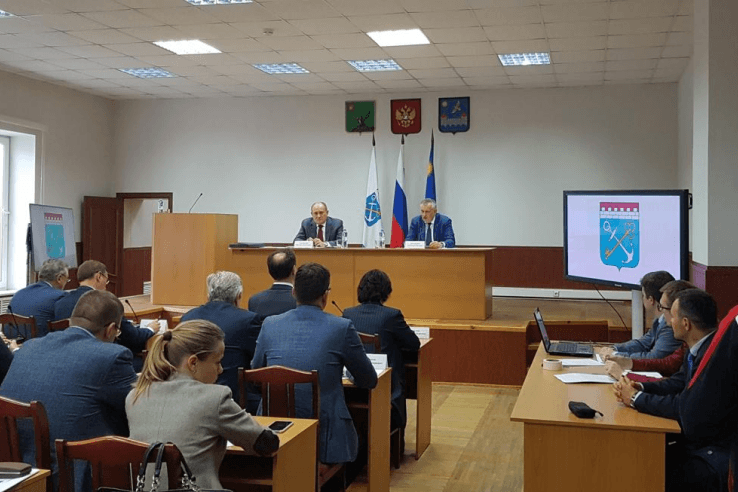 ПАО «Газпром» и Ленинградская область развивают сотрудничество