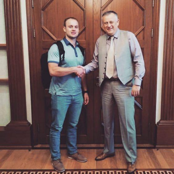Губернатор встретился с Семёном Павличенко