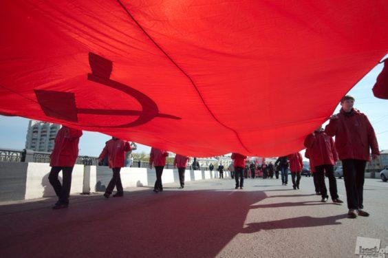 Красные наступают