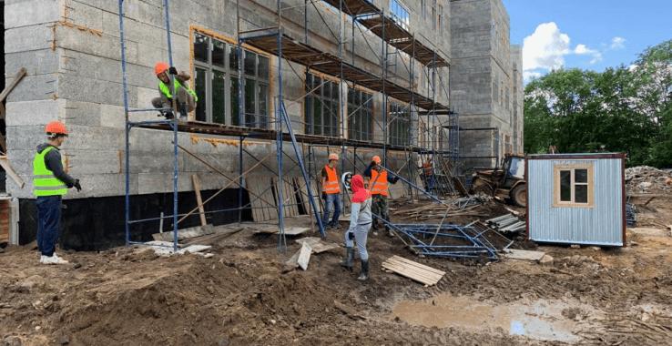 Область строит новые школы на селе