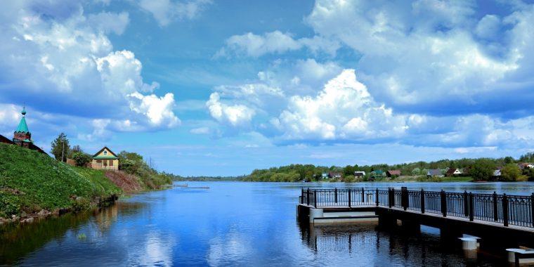 О состоянии реки Волхов
