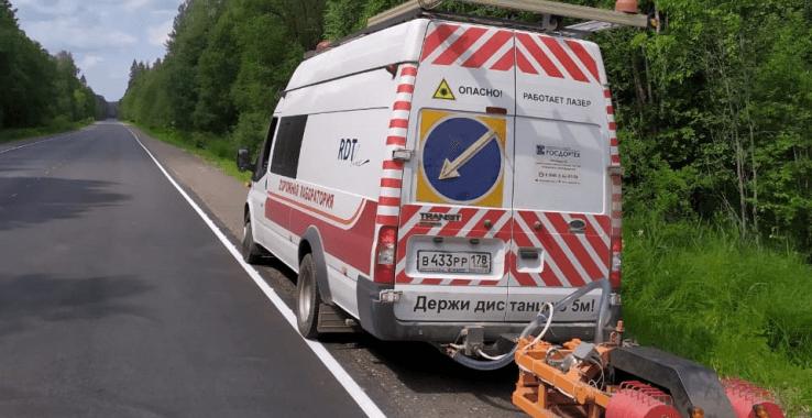 Дороги проверяют машины с датчиками