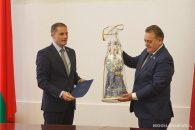 Делегация Законодательного собрания Ленинградской области посетила Могилев