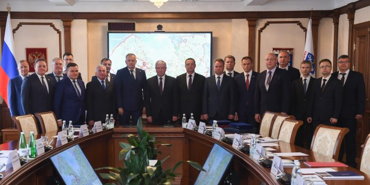 Александр Дрозденко встретился с делегацией из Беларуси