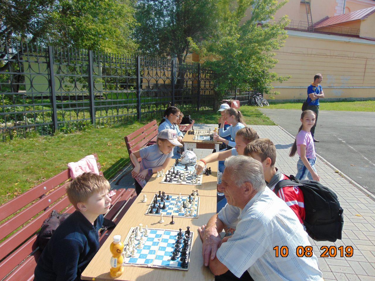 Шахматы в День физкультурника
