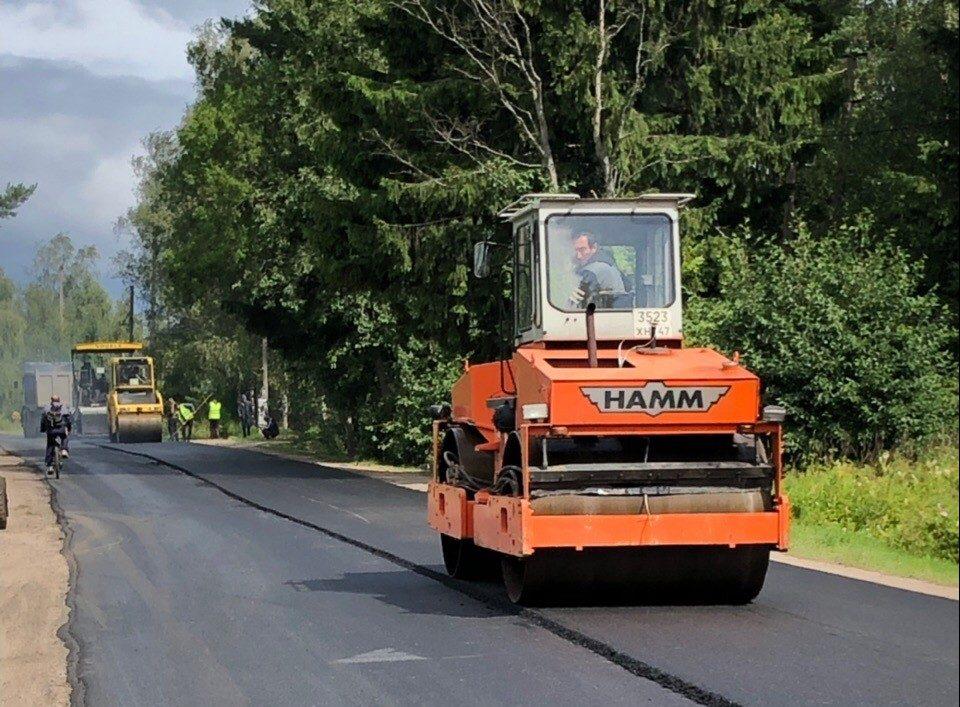 Центральную улицу Паши ремонтируют