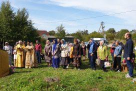Выезд православной молодёжи в Колчаново