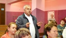 Рабочая поездка глав района в Кисельнинское СП