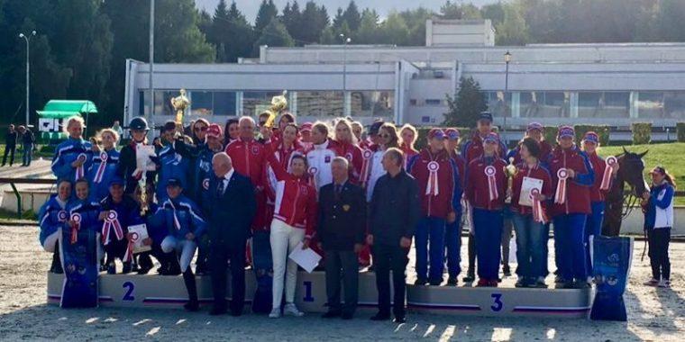 Серебро IX Спартакиады учащихся РФ по конному спорту у сборной Ленинградской области