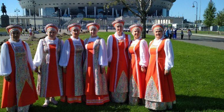 """Новоладожская """"Калинушка"""" - в составе самого большого оркестра в истории!"""