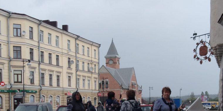 В европейском городе Северо-Запада