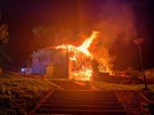 В Старой Ладоге сгорел дом купца Калязина