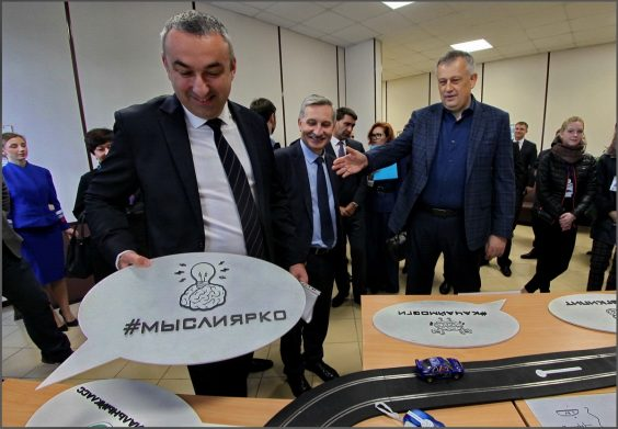 Алексей Брицун на Едином Дне трудоустройства в Терволово