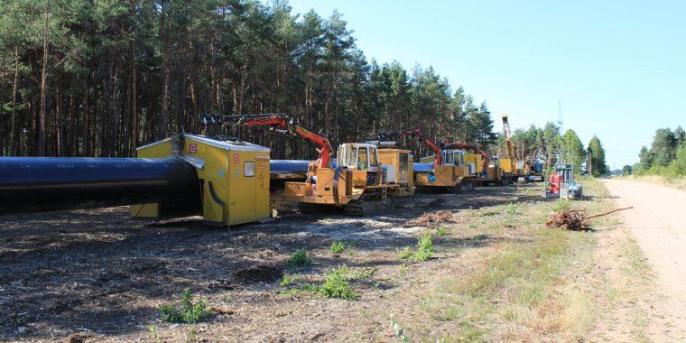 Дороги ремонтируют благодаря строительству газовых магистралей