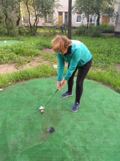 В Волховский район пришёл гольф!