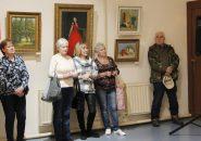 В Новой Ладоге открылась выставка картин Сергея Хмелёва