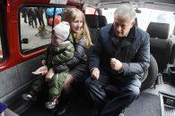 Многодетным семьям - микроавтобусы