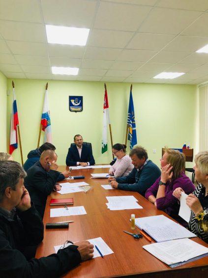На заседании Совета депутатов Пашского СП