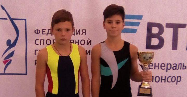 Достижение волховских гимнастов