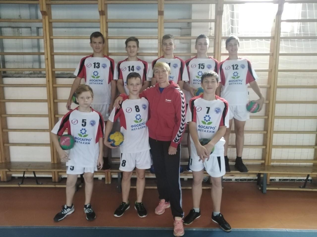 Основу юношеской сборной ЛО по гандболу составят волховчане