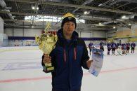 Хоккей в честь освобождения киришской земли