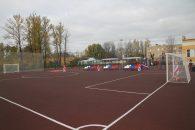 Новая школьная спортплощадка