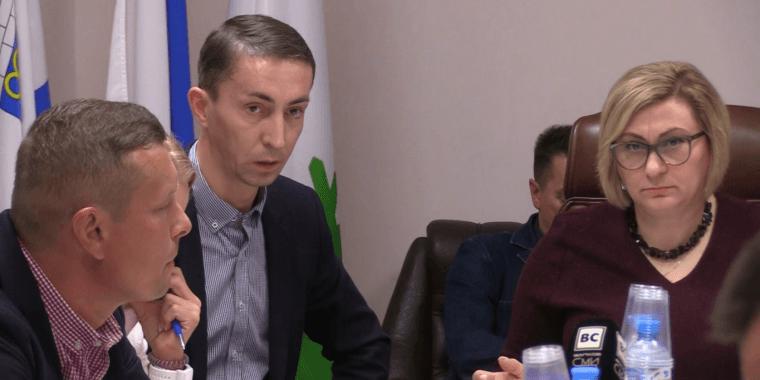 На заседании Совета депутатов Волхова